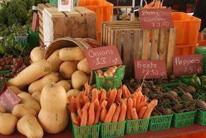 Nith Valley Organics Market stall