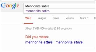 Mennonite Satire