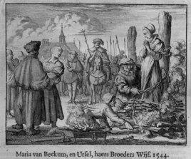 Maria van Beckum martyr