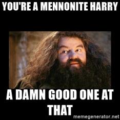 HP Mennonite Meme
