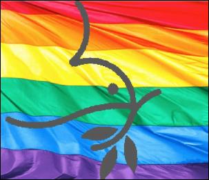 Menno Pride flag