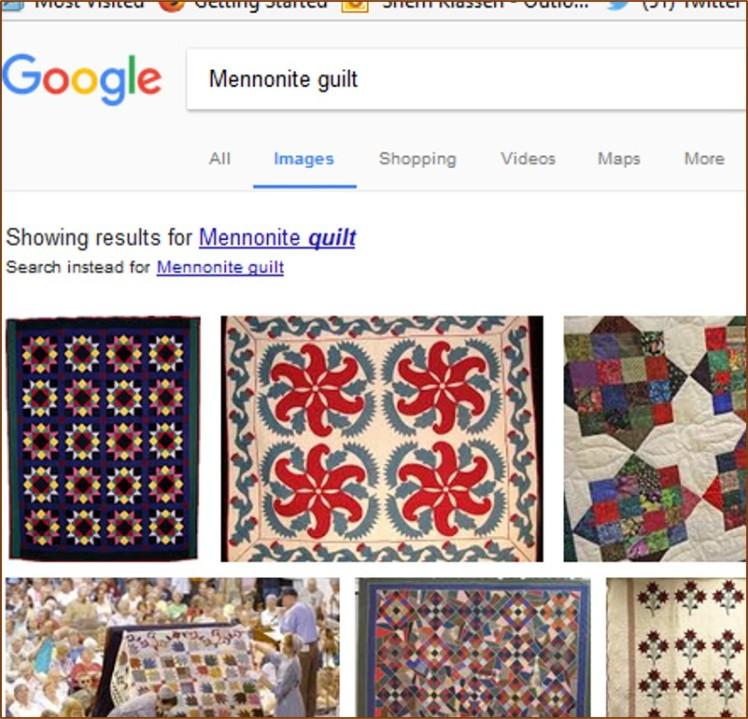 Mennonite Guilt Google Image